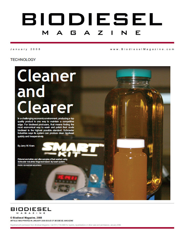 Biofuels Magazine Article January 2008